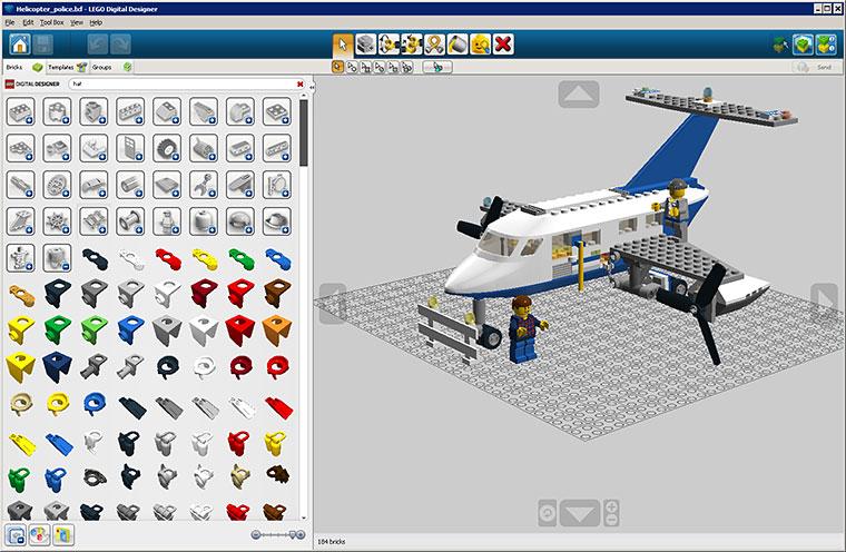 Скачать программу lego digital designer